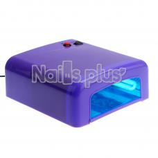 Ультрафиолетовая лампа 36 Вт, классическая сиреневая 818