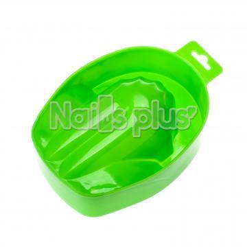 Ванночка для маникюра пластиковая салатовая