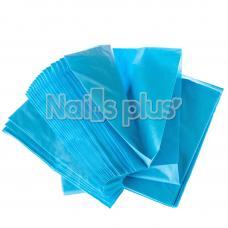Простынь одноразовая голубая 80x180см,упаковка 10 шт.