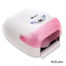 Лампа ультрафиолетовая SALON Professional с розовым козырьком
