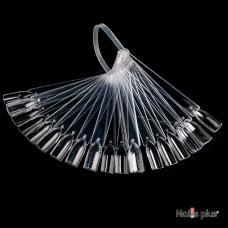 Палитра-веер прозрачная (50шт)