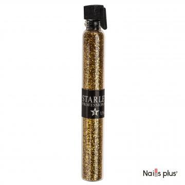 Блестки в пробирке Starlet Professional темное золото