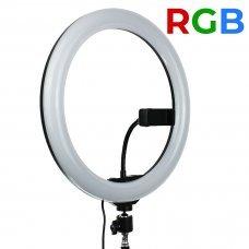 Лампа кольцевая RGB 13 MJ-33 (238 диодов) 33 см
