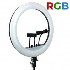 Кольцевая лампа RL-18 45 см с сумкой 480 диодов