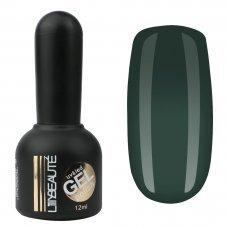 Гель-лак Lilly Beaute №101, 12 мл темно зеленый