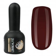 Гель-лак Lilly Beaute №137, 12 мл красный с коричневым оттенком