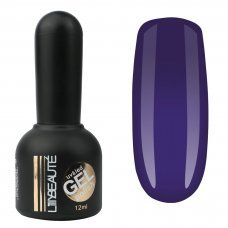 Гель-лак Lilly Beaute №144, 12 мл темно фиолетовый
