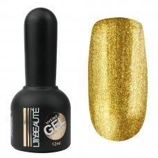 Гель-лак Lilly Beaute №167, 12 мл золото