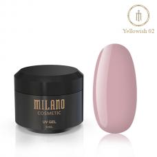 Гель Для Наращивания Milano Yellowish 30 ml