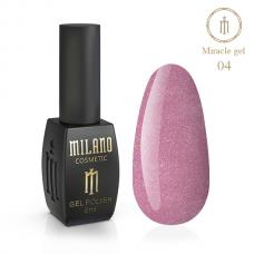 Гель лак Milano MIRACLE №04