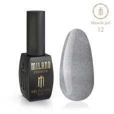 Гель лак Milano MIRACLE №12