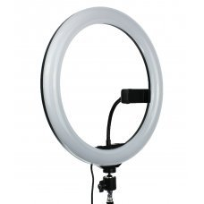 Лампа кольцевая RGB-12