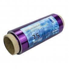 Фольга для мелирования 25м (цветная) фиолетовая