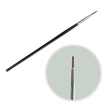 Кисть для рисования черна ручка пластик1#