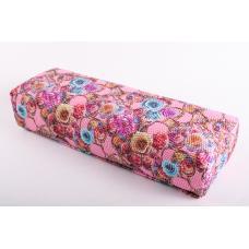Подушка-подлокотник маленький «ящерица в цветах»