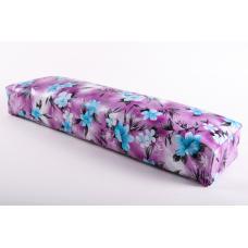 Подушка-подлокотник большой «голубые цветы»