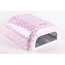Лампа ультрафиолетовая классическая «розовые цветы»
