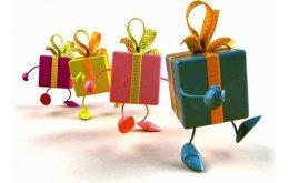 Забирайте свой подарок!