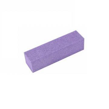 Бафик для ногтей 100/100,  фиолетовый