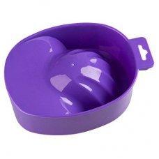 Ванночка для маникюра пластиковая фиолетовая
