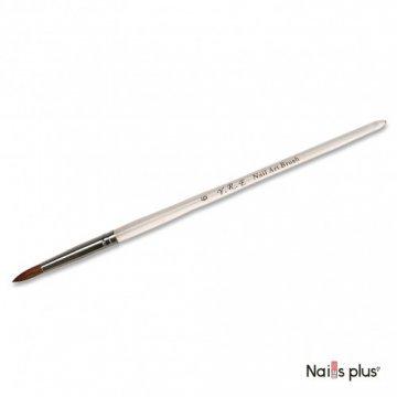 Кисть для акрила №6 прозрачная ручка YRE