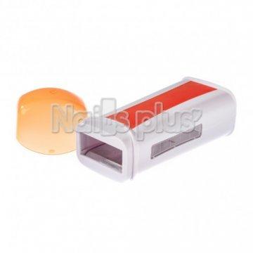Воскоплав однокассетный круглый оранж