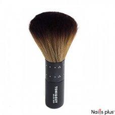 Сметка для волос TONIGUY черно-коричневая