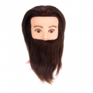 Голова учебная с бородой