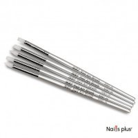 YRE набор силиконовых кистей серебряная ручка NSKG-04 (5 шт.)
