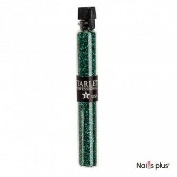 Блестки в колбочке Starlet Professional изумрудно-зеленые