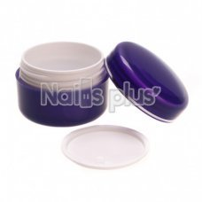 Баночка фиолетовая (тара) 30 грамм