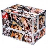 Алюминиевый кейс для косметики GIRL