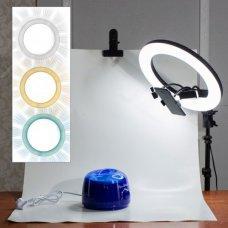 Кольцевая лампа d21 (54см)