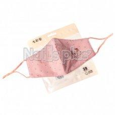 Защитная маска для лица розовая