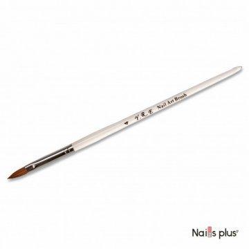 Кисть для акрила прозрачная ручка №4 YRE