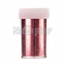 Фольга переводная в баночке нежно-розовый