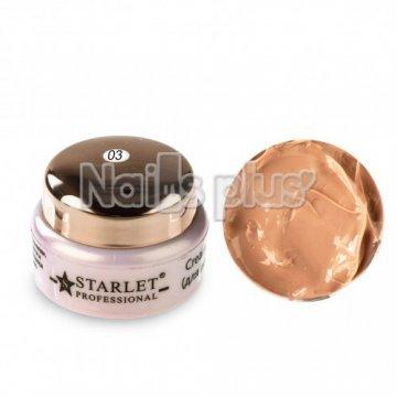 Крем-гель Starlet Professional для лепки 03 бежевый (5гр)