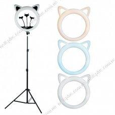 "Лампа кольцевая ""Черная кошка"" диаметр 2 RK 45 50 см"