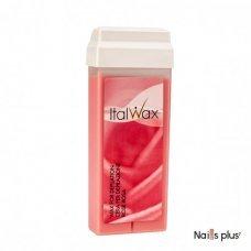Воск для депиляции в кассете Ital Wax роза, 100мл
