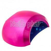 UV/LED лампа - шарик Sun 48 Вт , ярко-розовый