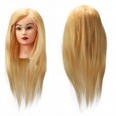 Голова искусственная термо блонд