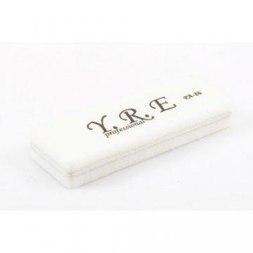 Баф-шлифовщик для ногтей YRE PA 26, 100/180, цвет белый