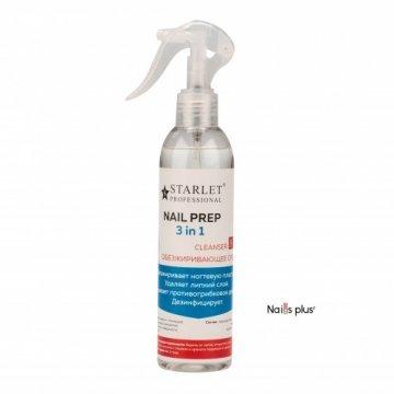 NAIL-PREP 3 в 1 Starlet Professional (с распылителем)