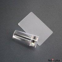 Печать силиконовая прозрачная