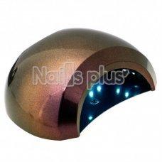 UV/LED лампа - шарик Sun 48 Вт бордо- хамелеон