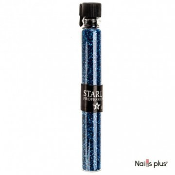 Блестки в пробирке Starlet Professional синие