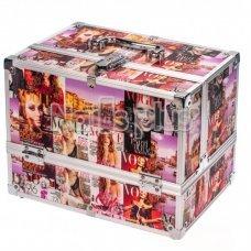Алюминиевый кейс для косметики журнал