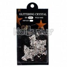 Глиттер кристаллы 1440 шт стандартные