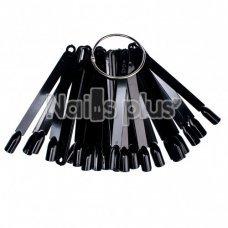 Палитра-веер черная (50шт)