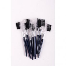 Щеточка для бровей и ресниц короткая ручка (12 штук)